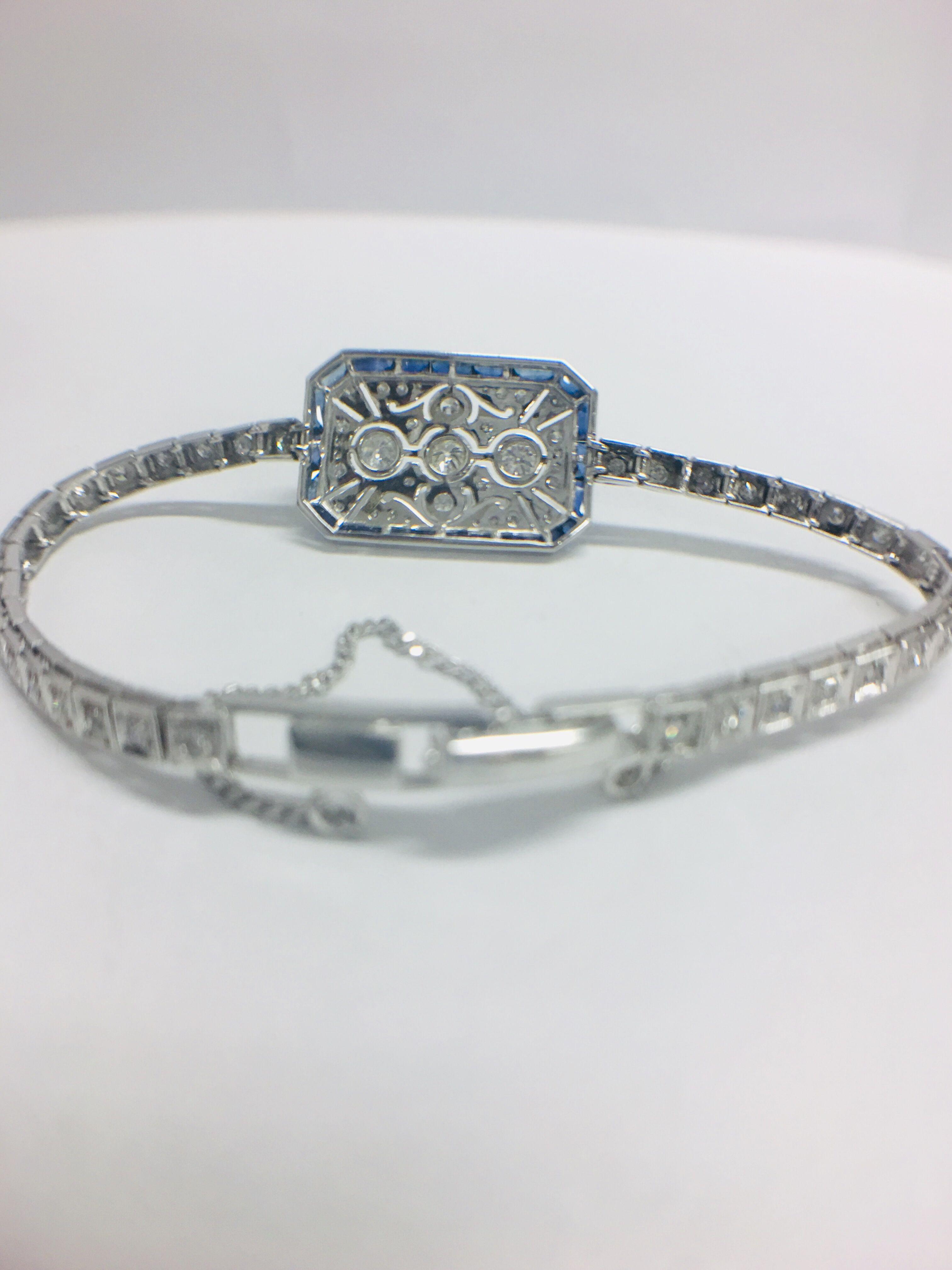 Platinum Cocktail Bracelet - Image 6 of 12