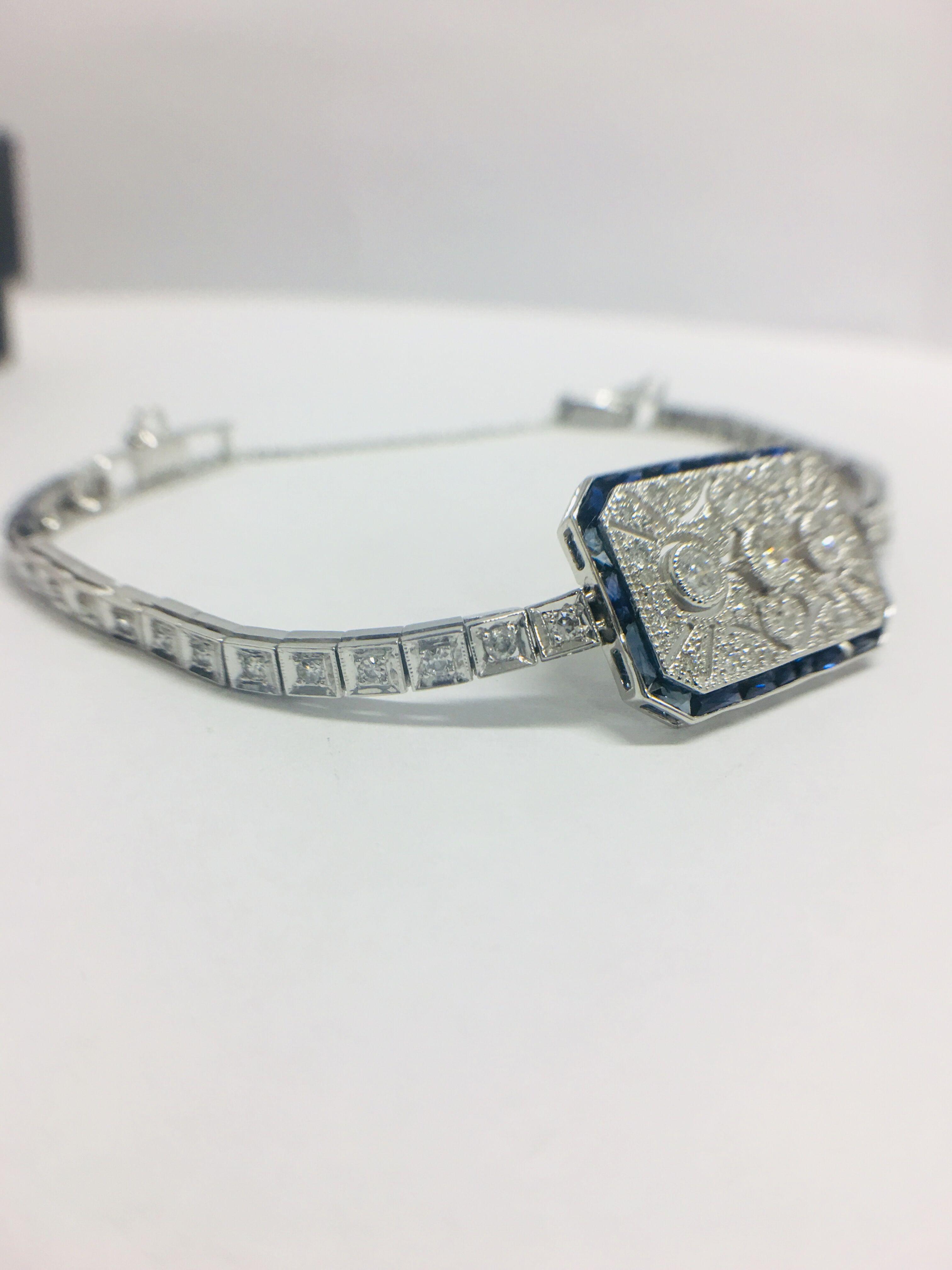 Platinum Cocktail Bracelet - Image 3 of 12