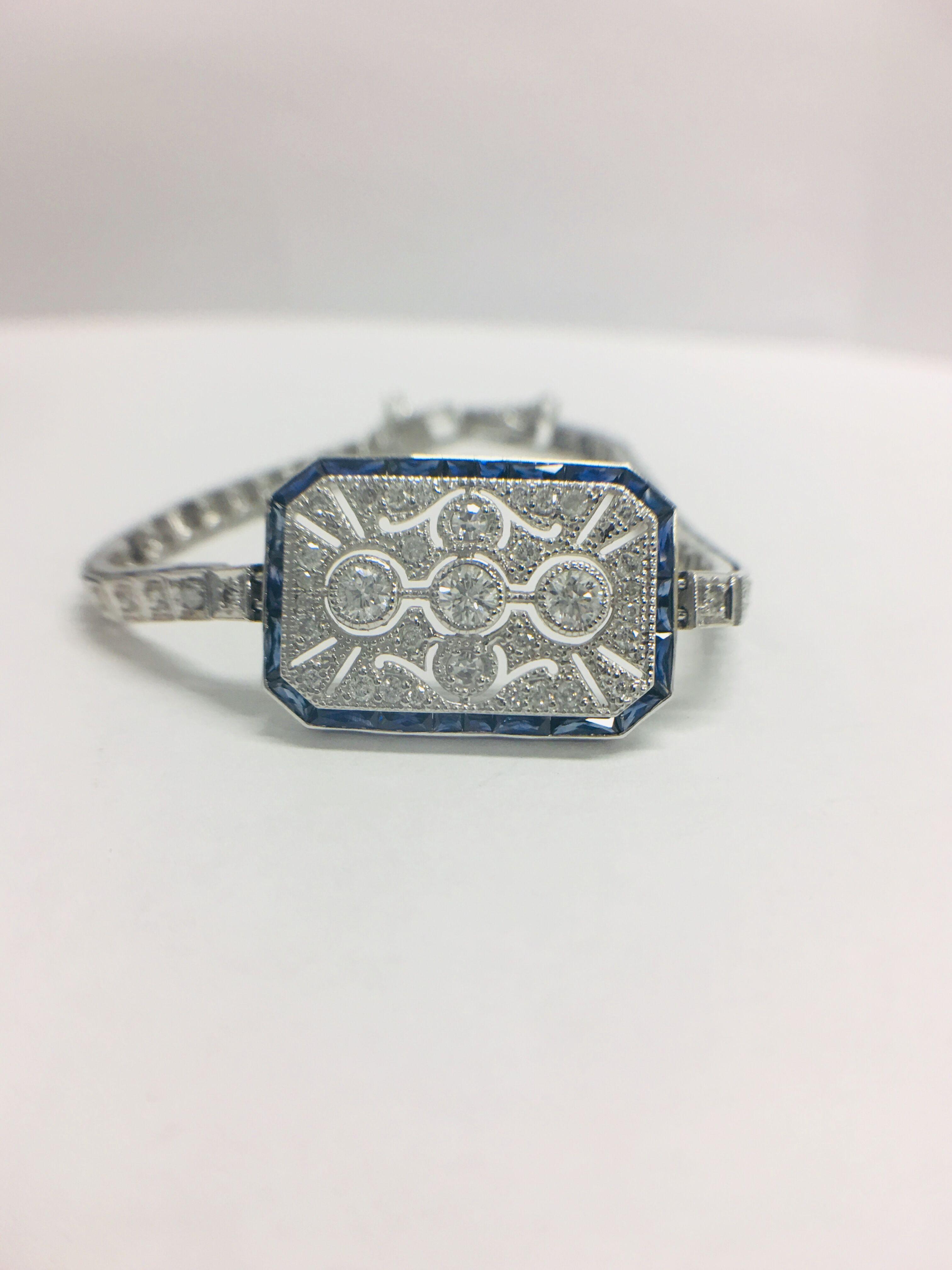 Platinum Cocktail Bracelet - Image 2 of 12