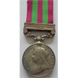 India General Service Medal 1895, clasp Relief of Chitral 1895 to 3560 Private P. McFadyan, 2nd