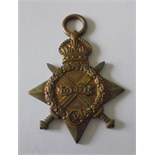 1914-15 Star named to 12405 Private W. Burchall, Lancashire Fusiliers. Generally very fine