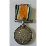 British War Medal named to 32681 Private F. Taylor, York and Lancaster Regiment. Killed on 17th