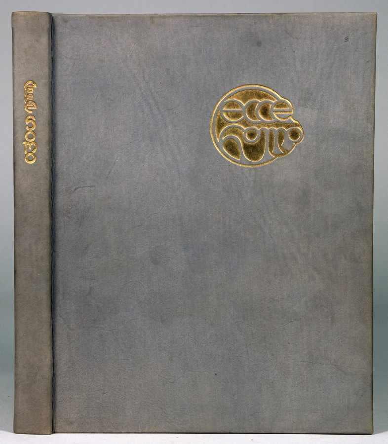 Insel Verlag - Friedrich Nietzsche. Ecce Homo. Leipzig, Insel [1908]. Mit illustriertem