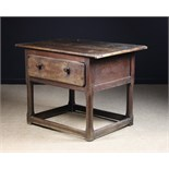 An 18th Century Joined Oak Welsh Country Table.