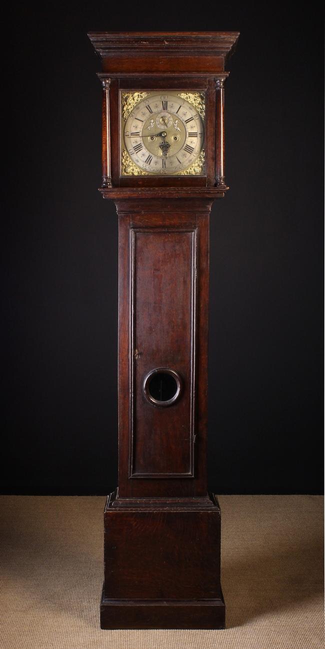 Lot 93 - An Oak Eight Day Long Case Clock by Battersbee of Manchester.