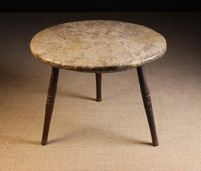 Lot 83 - A Large 19th Century Burrwood Cricket Table.