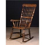 A 19th Century 'Caistor' Rocking Chair Circa 1850-90.