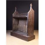 An Antique Oak Prie-dieu/ Bookrest.