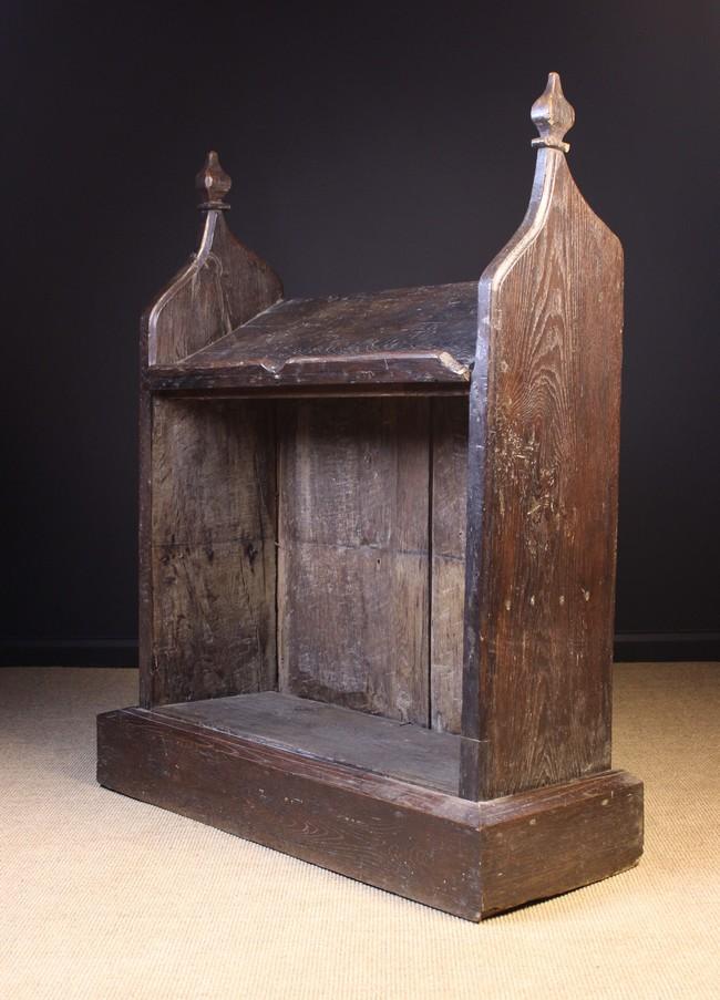 Lot 88 - An Antique Oak Prie-dieu/ Bookrest.