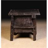 A Small Continental Oak Cupboard.