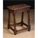 A Late 18th Century Joint Stool.