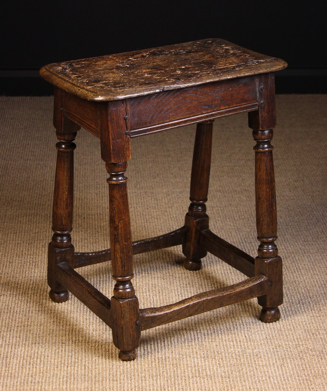 Lot 116 - A Late 18th Century Joint Stool.