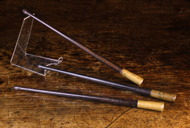 Lot 119 - Three Drumsticks, reputedly from the American Civil War.