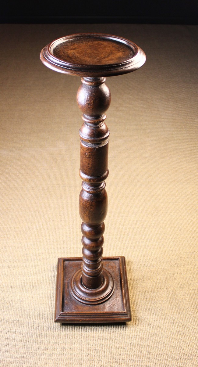 Lot 101 - A Pedestal Stand with scumbled paintwork.