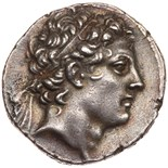 Seleukid Kingdom. Antiochos IV Epiphanes. Silver Tetradrachm (16.36 g), 175-164. Antioch on the