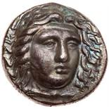 Carian Satraps. Hidrieus. Silver Tetradrachm (15.18 g), ca. 351/0-344/3 BC About. Laureate head of