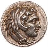 Macedonian Kingdom. Alexander III, the Great, 336-323 BC. Silver Tetradracm (17. Minted at