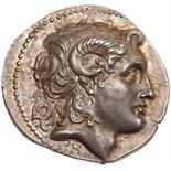 Thracian Kingdom. Lysimachos. Silver Tetradrachm (16.88 g), as King, 306-281 BC. Pergamon, ca. 287/
