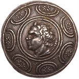 Macedonian Kingdom. Antigonos II Gonatas. Silver Tetradrachm (17.03 g), 277/6-23. Amphipolis, ca.