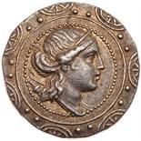 Macedonia, under Roman rule. First Meris. Silver Tetradrachm (16.88 g), ca. 167-. Amphipolis.