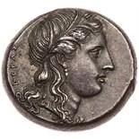 Sicily, Syracuse. Agathokles. Silver Tetradrachm (16.93 g), 317-289 BC EF. Ca. 310/08-306/5 BC. ,