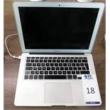 Apple MacBook Air s/n C02MJ5T1F6T6 with Charger