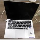 Apple MacBook Pro s/n C02R825LFVH6 with Charger