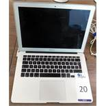 Apple MacBook Air s/n C02G3LS7DJWT with Charger
