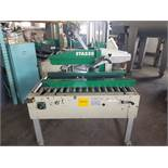 """STA520 Top and Bottom Case Sealer, S/N AZ026715, Yr. 2005, 2"""" Heads, Casters (Located Fort Worth,"""