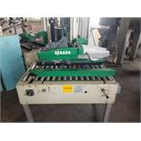 STA520 Top and Bottom Case Sealer, S/N AZ026360, Yr. 2005, 115 Volt, 2-Heads, Casters (Located