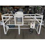"""Safeline S & D / 16 x 16/ D / 300/ MD/ ABS Metal Detector, S/N 27796 with Tunnel Size 13-1/2"""" H x"""