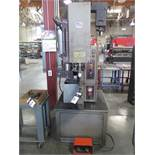"""Haeger 8 Ton x 24"""" Hardware Insertion Press w/ Haeger Tool Protection System Bowl Feeder, SOLD AS IS"""