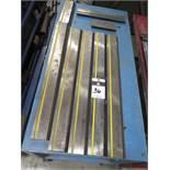 Amada Press Brake Tooling w/ Cart (SOLD AS-IS - NO WARRANTY)