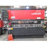 """Amada FBD-1030E 100 Ton x 10' CNC Press Brake s/n 1030518 w/ NC9-EX II, 118.1"""" Table, SOLD AS IS"""