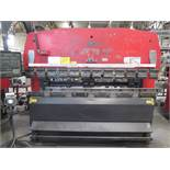 """Amada RG-80 80 Ton x 8' CNC Press Brake s/n 810340 w/ NC9-EX II Controls, 94.6"""" Table, SOLD AS IS"""