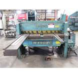 """Wysong mdl. 1052 10GA x 52"""" Power Shear s/n P58-208 w/ 56"""" Squaring Arm, Front Supports SOLD AS IS"""