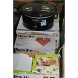 Lot to Contain 4 Assorted Items to Included Kenwood 3In1 Juice Extractor Breville Professional Stick