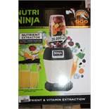 1 Boxed Nutri Ninja Nutrient Vitamin Extraction Juice Maker RRP £100 (Untested Customer Returns)