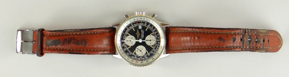 BREITLING NAVITIMER FIGHTERS EDITION STAINLESS STEEL CHRONOGRAPH WRISTWATCH, numbered to reverse ' - Image 2 of 7