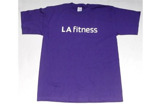 Approx 60 X La Fitness Promotional T Shirts Supplied In