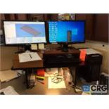 Dell Precision Tower 3620, 5, and CorelDraw X8 software programs installed , used on CNC