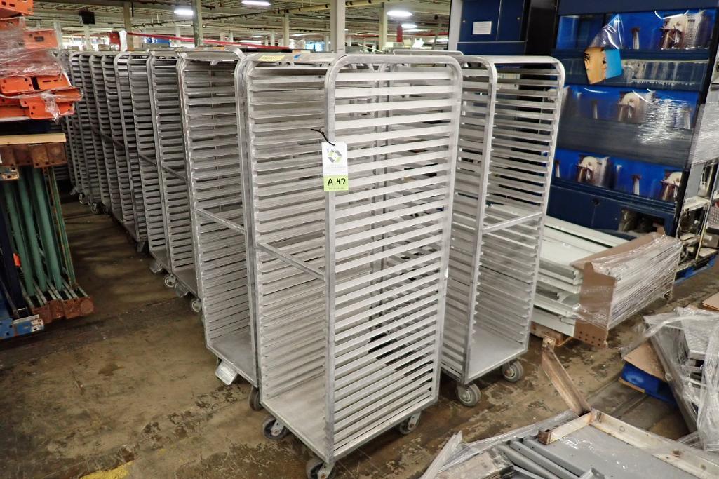 Lot 47 - Aluminum bakery rack {Located in Indianapolis, IN}