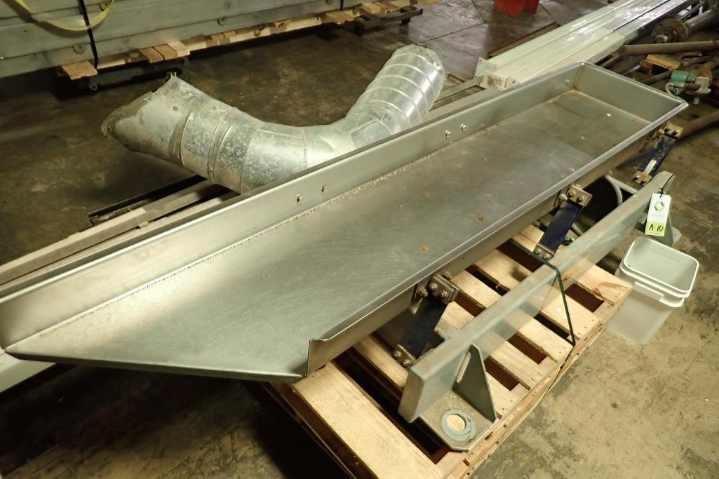 Lotto 10 - Key iso-flo vibrator conveyor {Located in Indianapolis, IN}