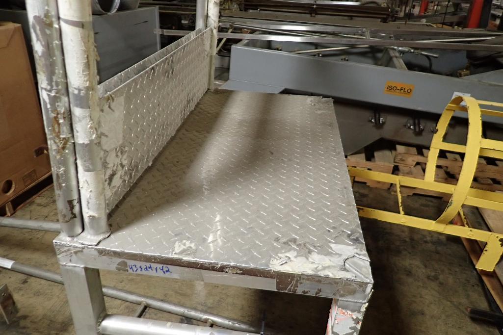 Lot 3 - Aluminum crossover {Located in Indianapolis, IN}