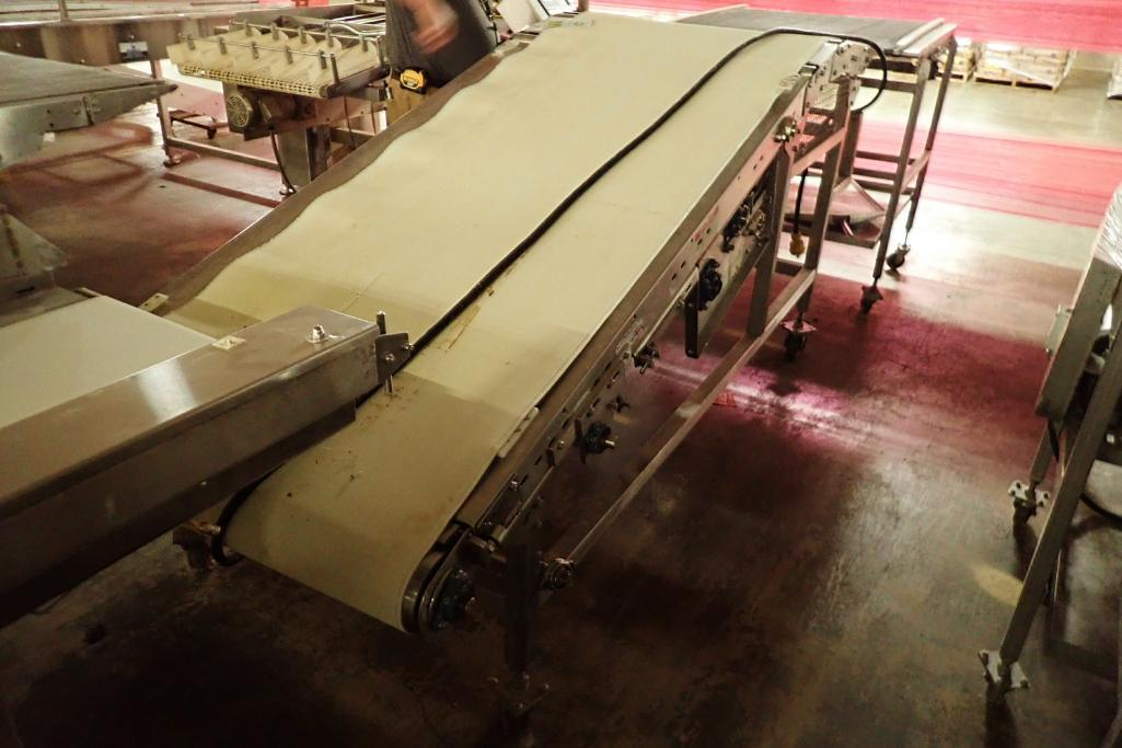 Lot 31 - Incline belt conveyor {Located in Indianapolis, IN}