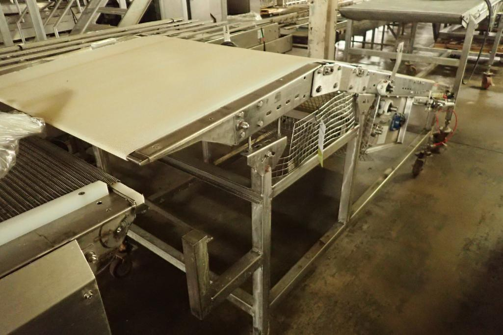 Lotto 40 - Incline belt conveyor {Located in Indianapolis, IN}