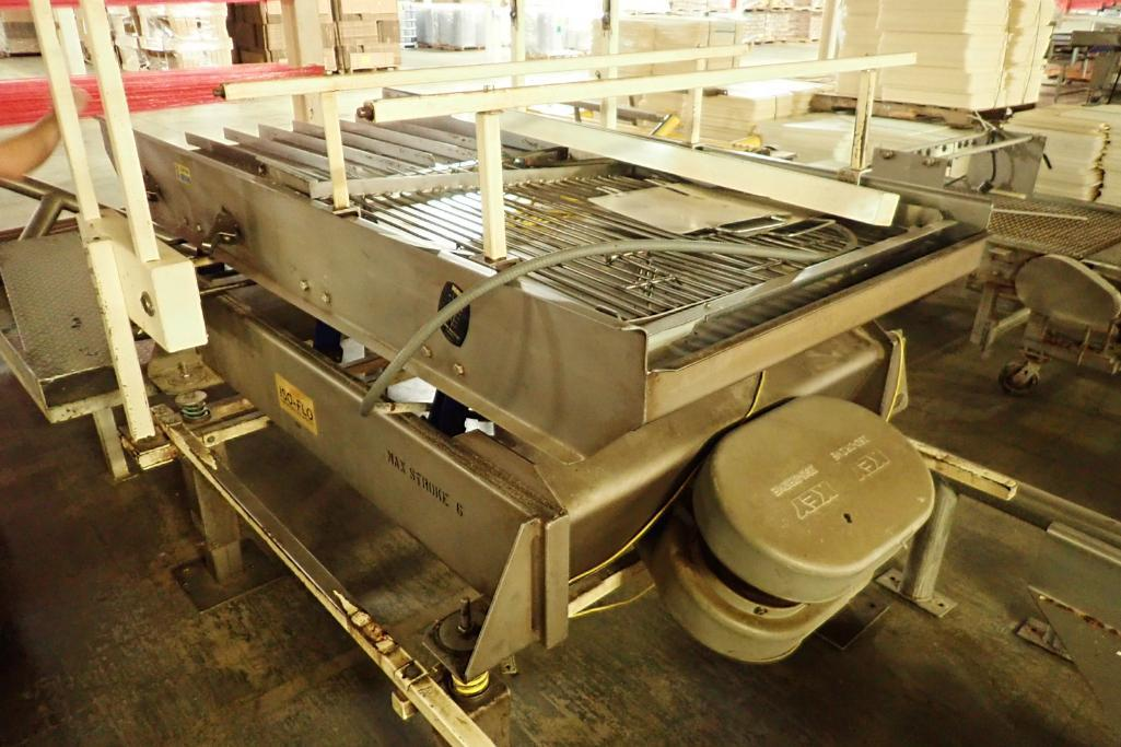 Lotto 7 - Key iso-flo vibrator conveyor {Located in Indianapolis, IN}