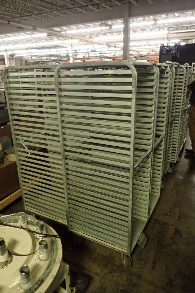 Lot 55 - Aluminum bakery rack {Located in Indianapolis, IN}