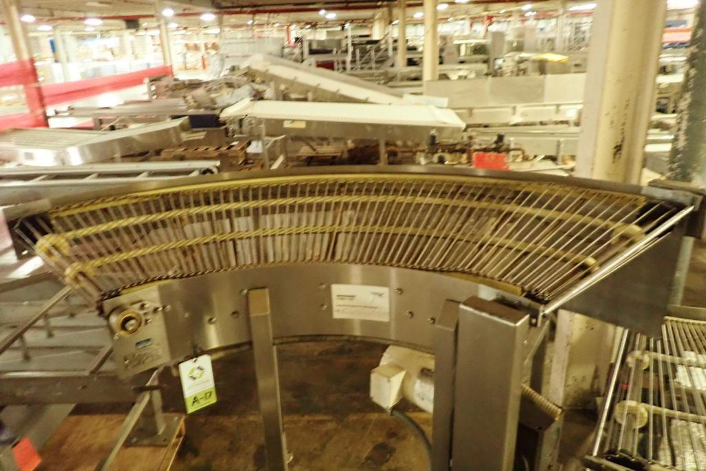 Lot 17 - Keenline 90 degree conveyor {Located in Indianapolis, IN}