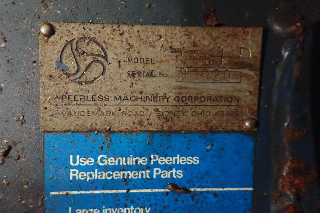 Lot 66 - Peerless roller bar mixer {Located in Avon, IN}